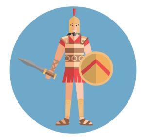Légionnaire à la bataille d'Argentoratum